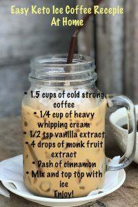 Easy Keto Ice Coffee Recipe at Home