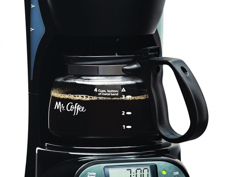 Mr. Coffee 4 Cup Programmable Coffee Maker