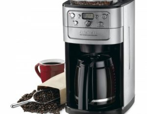 Cuisinart Grind and Brew DGB-700BC 12 Cup Coffee Maker with Grinder