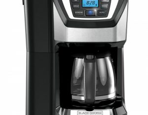 Black & Decker 12 Cup Mill and Brew Coffee Maker CM5000B
