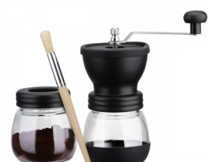 SeaSea Manual Coffee Grinder with Storage Jar